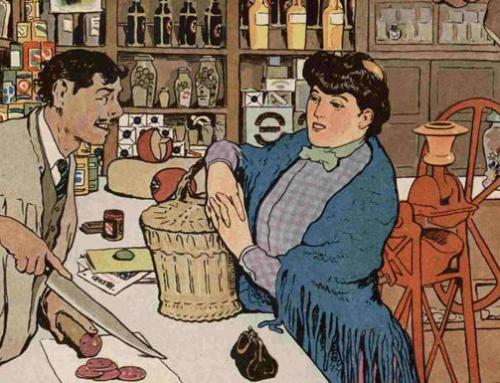 ¿Qué se vendía en una tienda de  ultramarinos bilbaína hace 150 años?